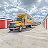 Snapbox SW South Macedo move-in truck