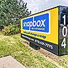 Snapbox 24th St. facility street sign