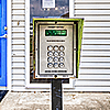 Snapbox 24th St. exterior keypad and/or gate
