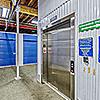 Snapbox Pennsauken elevator