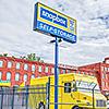 Snapbox South West Philadelphia facility street sign