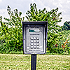 Snapbox Storage Parkway exterior keypad and/or gate