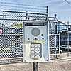 Snapbox Leon Circle exterior keypad and/or gate