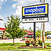 Snapbox J Street facility street sign