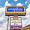 Snapbox Central Ave facility street sign